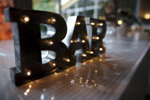 Décoration mariage Bar
