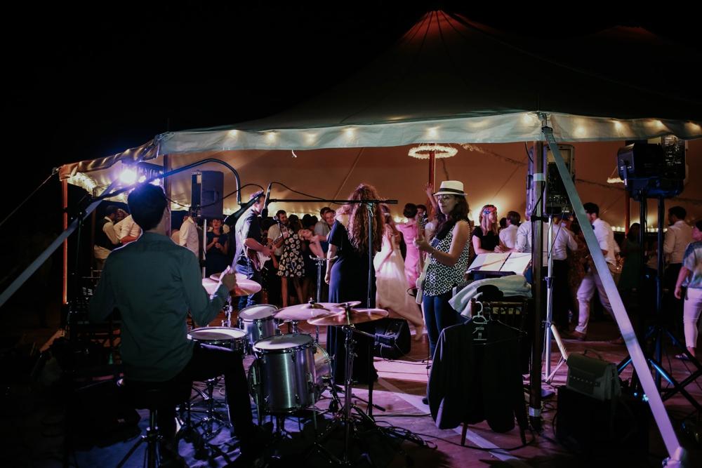 Le groupe de musique en Soirée dansante à Genève